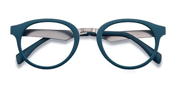 Matte Green Aisu -  Metal Eyeglasses