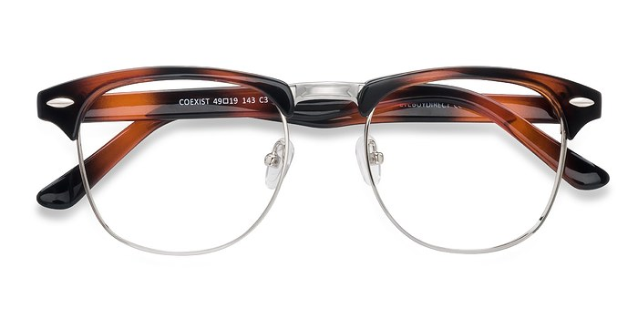 Brown Coexist -  Metal Eyeglasses