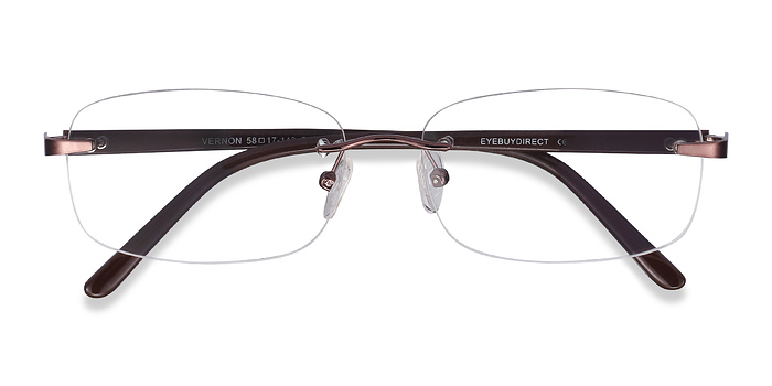 Brown Vernon -  Lightweight Acetate Eyeglasses