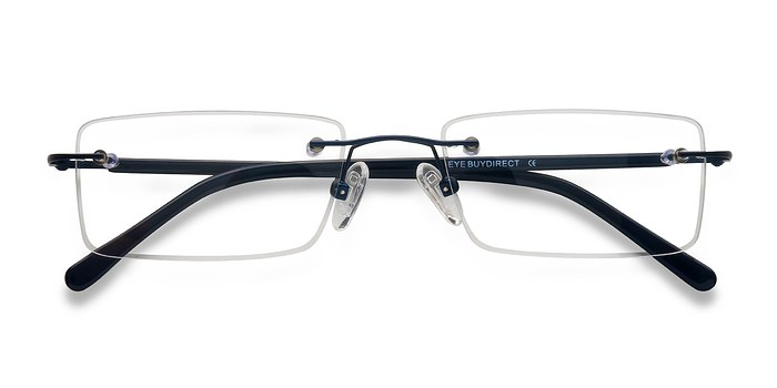 Navy Glacon -  Lightweight Metal Eyeglasses