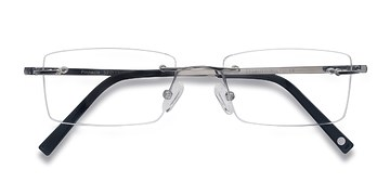 Silver Pinnacle -  Lightweight Titanium Eyeglasses