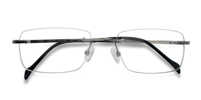 Silver Lupin -  Lightweight Titanium Eyeglasses
