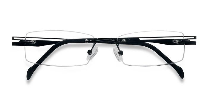 Black Lance -  Designer Titanium Eyeglasses