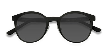 Matte Black Copenhagen -  Metal Sunglasses