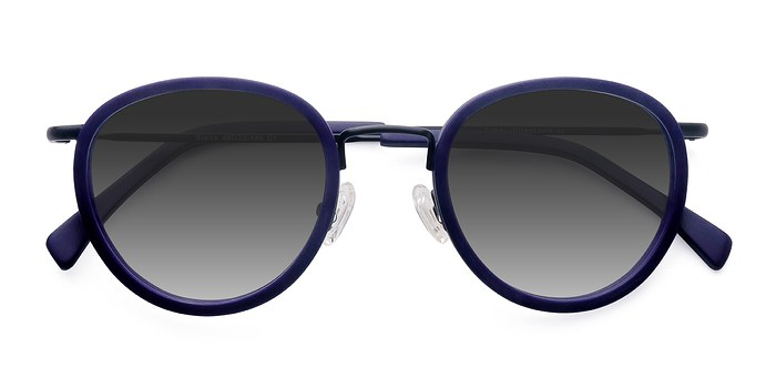 Matte Navy Siena -  Acetate Sunglasses