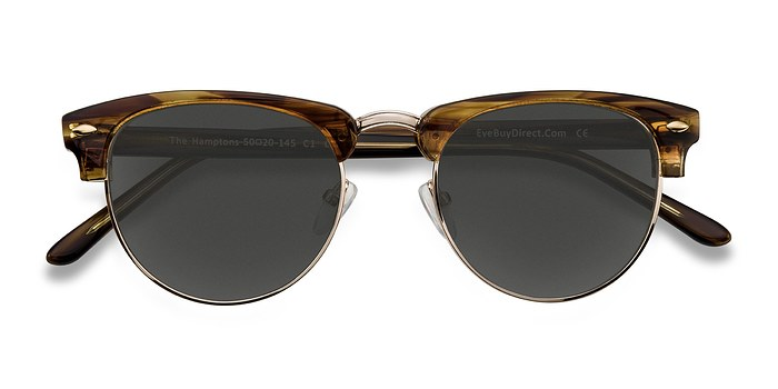 Brown Golden The Hamptons -  Acetate Sunglasses