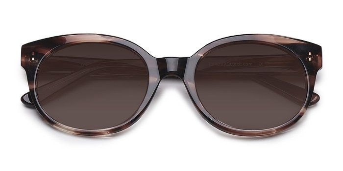 Brown/Tortoise Matilda -  Plastic Sunglasses