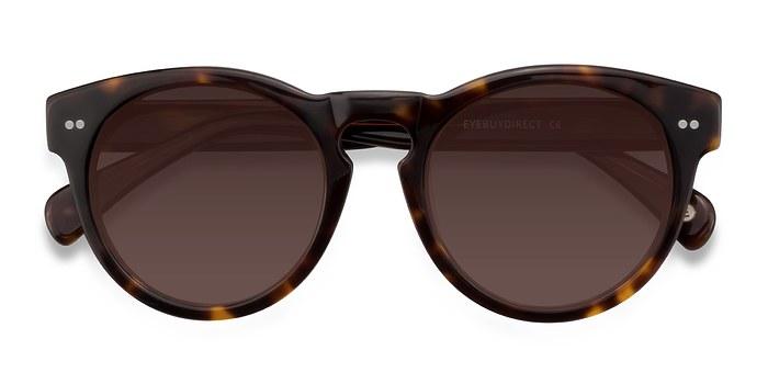 Brown/Tortoise Penelope -  Vintage Plastic Sunglasses