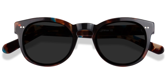 Nebular Blue Horizon -  Vintage Acetate Sunglasses