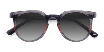 Granite & Rose Shadow -  Vintage Acetate Sunglasses