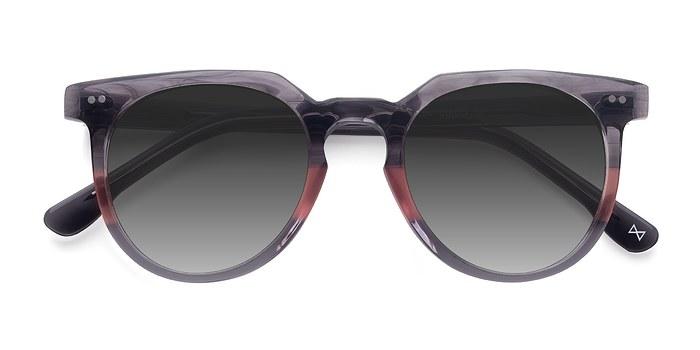 Granite & Rose Shadow -  Acetate Sunglasses