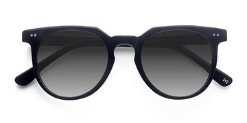 Jet Black Shadow -  Acetate Sunglasses