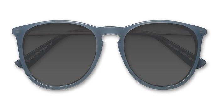Blue   Interlude -  Acetate Sunglasses