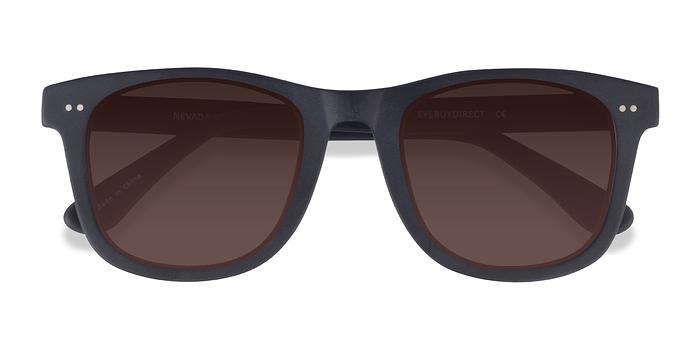 Matte Black Nevada -  Acetate Sunglasses