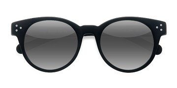 Matte Black Minuit -  Acetate Sunglasses