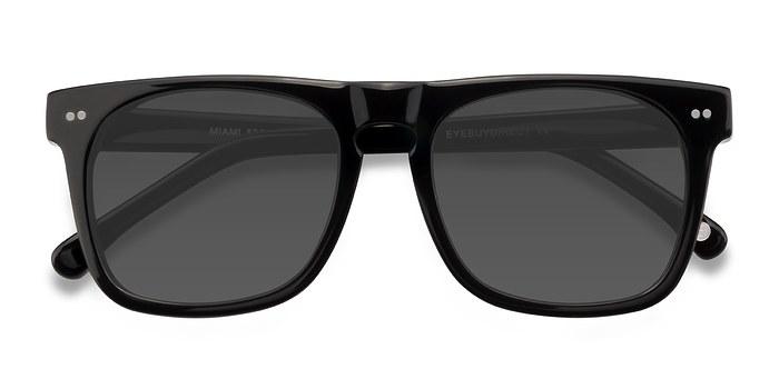 Black Miami -  Acetate Sunglasses