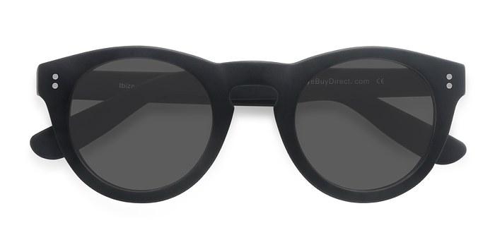 Matte Black Ibiza -  Acetate Sunglasses