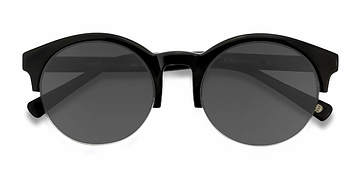 Black Verona -  Acetate Sunglasses