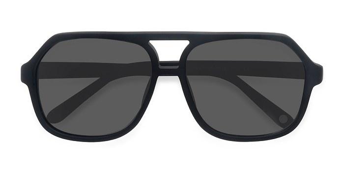 Matte Black Vegas -  Acetate Sunglasses