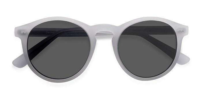 Matte White Decadent -  Acetate Sunglasses
