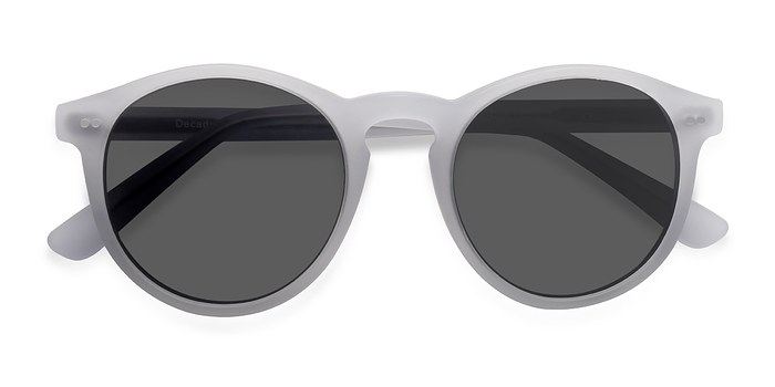 Matte White Decadent -  Acetate Sunglasses