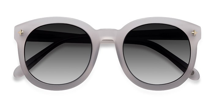 White Paige -  Acetate Sunglasses