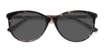 Tortoise Calypso -  Plastic Sunglasses