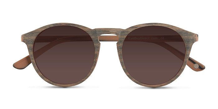Dark Walnut Air -  Wood Texture Sunglasses