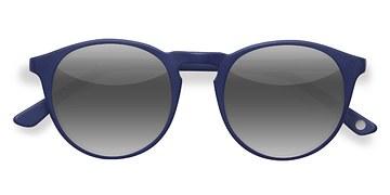 Matte Navy Air -  Acetate Sunglasses