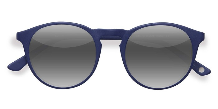 Matte Navy Air -  Acetate Sunglasses