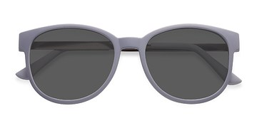 Matte Gray Terracotta -  Metal Sunglasses