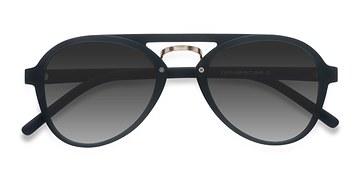 Black Chips -  Plastic Sunglasses