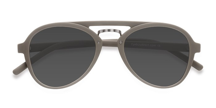 Light Green Chips -  Plastic Sunglasses