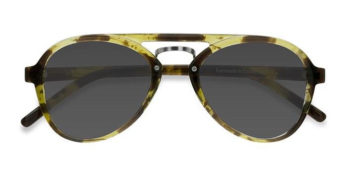 Tortoise Chips -  Vintage Plastic Sunglasses