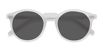 Matte Frost Luminance -  Acetate Sunglasses