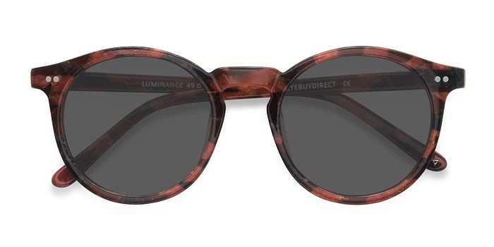 Floral Rose Luminance -  Acetate Sunglasses