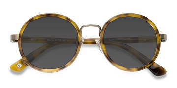 Tortoise Bounce -  Acetate Sunglasses
