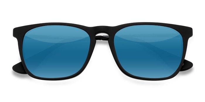 Matte Black Bogota -  Acetate Sunglasses