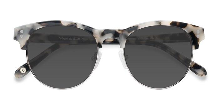 Ivory Tortoise College -  Acetate Sunglasses