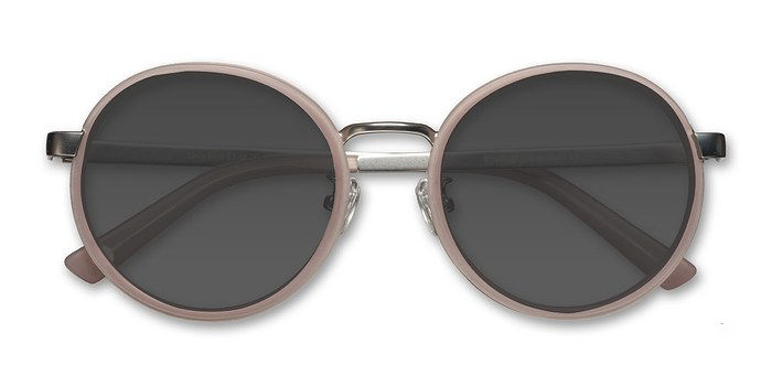 Matte Pink Lady Bird -  Acetate Sunglasses