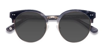 Gray Silicate -  Vintage Acetate Sunglasses