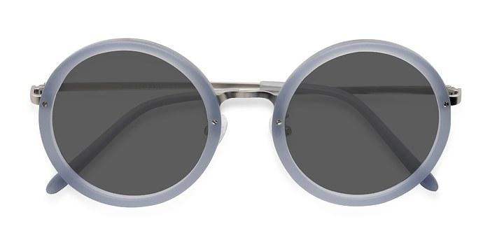 Light Blue Well -  Acetate Sunglasses