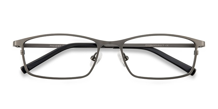 Gunmetal  Present -  Titanium Eyeglasses