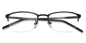 Matte Black  Argil -  Metal Eyeglasses