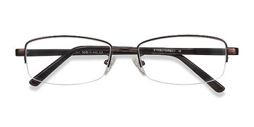 Bronze Limit -  Metal Eyeglasses