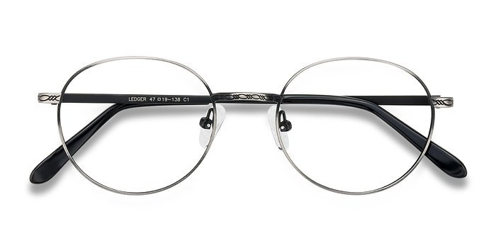 Gray Ledger -  Geek Metal Eyeglasses