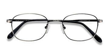 Gunmetal Caesar -  Geek Metal Eyeglasses