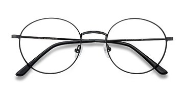 Black Motif -  Metal Eyeglasses