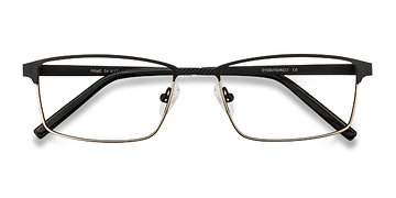 Black Brown Prime -  Metal Eyeglasses