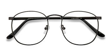 Black Closer -  Metal Eyeglasses